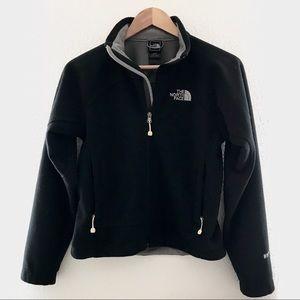 The North Face Blk Fleece Jacket Windwall Sweater
